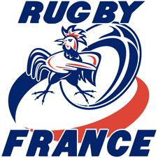 Free Rugby Ball France Rooster Cockerel Royalty Free Stock Photography - 16598777