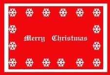 Free Christmas Snowflake Illustration Royalty Free Stock Photography - 16599917