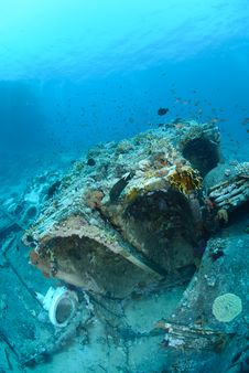 Abandoned Cargo From Shipwreck Stock Image