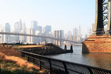 Free Brooklyn Bridge Stock Photography - 1660112