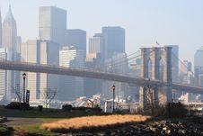 Free Brooklyn Bridge Stock Photography - 1660142