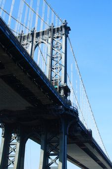 Free Manhattan Bridge Royalty Free Stock Photo - 1660175