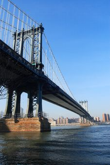 Free Manhattan Bridge Stock Images - 1660194