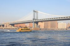 Free Manhattan Bridge Royalty Free Stock Images - 1660199