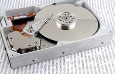 Free Hard Disk And Binary Stock Images - 1660914