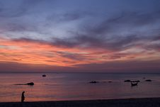 Free Sunset At Kho Lanta Royalty Free Stock Photos - 1661478