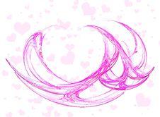 Free Heart- Background Stock Image - 1661611