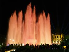 Free Montjuic (magic) Fountain In Barcelona 13 Stock Photo - 1663010