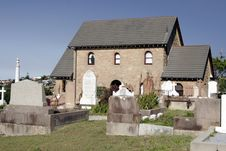 Free Cemetery House Royalty Free Stock Image - 1663596