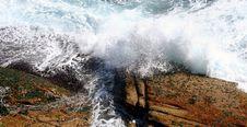 Free Waves At Bondi Beach Sydney Stock Photography - 1663852