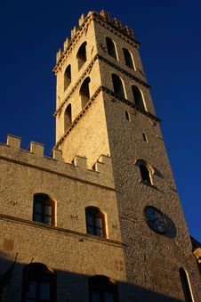 Free Assisi S Tower Royalty Free Stock Images - 1664869