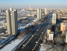 Free City In The Winter Stock Images - 1665464