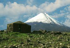 Volcano Klushevskaja Stock Images