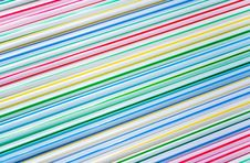 Free Group Of Colored Straw Stock Photos - 1668033
