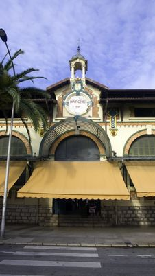 Menton Market Stock Photos
