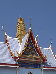 Free Detail Of Buddhist Temple Royalty Free Stock Photography - 1668267