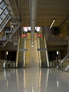Free Escalators Royalty Free Stock Photos - 1668288