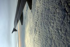 Free Vertical View From Plane Window Stock Photo - 1668590