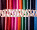 Free Twenty Four Color Pencils Royalty Free Stock Photography - 16606407