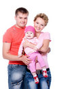 Free Young Happy  Beautiful Smiling Couple Royalty Free Stock Photos - 16606438