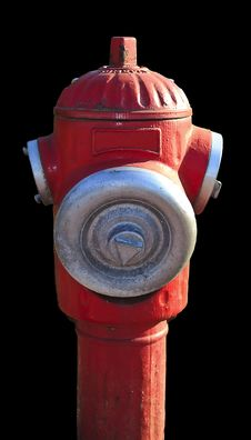 Free Red Hydrant Royalty Free Stock Photography - 16600387