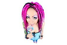 Free Girl With Lollipop Royalty Free Stock Images - 16600399