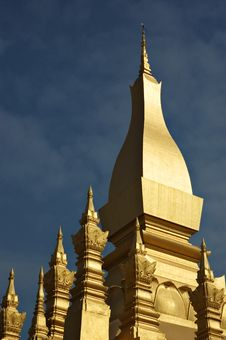 Free Buddhist Temple In Vientiane, Laos Stock Photo - 16600470
