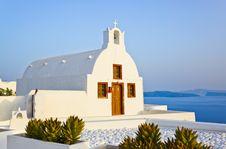 Free Santorini Church (Oia), Greece Royalty Free Stock Photos - 16600598