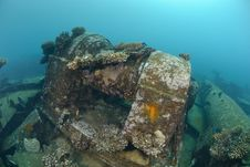 Free Shipwreck In Shallow Water Stock Photo - 16600620