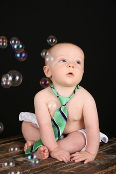 Free Baby Bubbles Stock Photography - 16601162