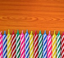 Free Birthday Candles Royalty Free Stock Images - 16601429