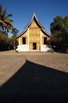 Wat Xieng Thong Temple In Laos Royalty Free Stock Photos
