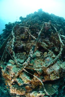 Free Wreckage From A The Lara Shipwreck Stock Photos - 16601873
