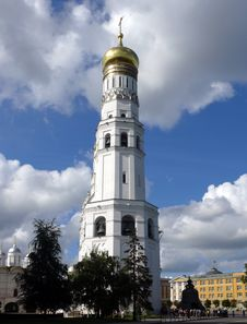 Free Belfry Of Ivan The Great In The Kremlin Territory Royalty Free Stock Images - 16601879