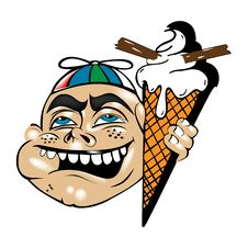 Free Ice Cream Boy Stock Photography - 16602232