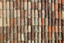 Old Obsolete Red Tile Royalty Free Stock Photos