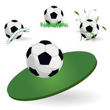Free Emblem Of Football Stock Photos - 16604023