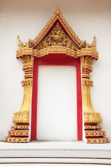 Free Thai Temple Entrance Stock Photo - 16604070