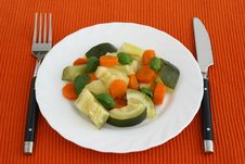 Free Boiled Vegetables Stock Images - 16604114