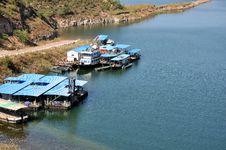 Free Boat Beside Lake Stock Photos - 16604243