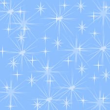 Free Snowflakes And Stars. Royalty Free Stock Photography - 16604897