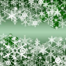 Free It Is A Lot Of Snowflakes. Stock Photo - 16604970