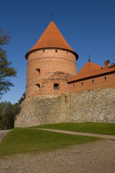 Island Castle In Trakai Royalty Free Stock Photography