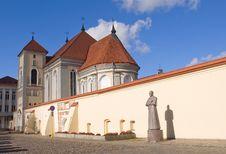 Free Old Church In Kaunas. Stock Photography - 16605302