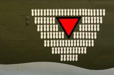 Free Bombing Signalisation Royalty Free Stock Image - 16605836