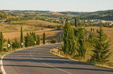Free Tuscany Landscape Stock Photography - 16606062