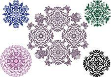 Free Round Shape Design Elements Set Stock Photography - 16606382
