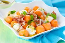 Melon Salad Stock Images