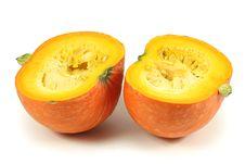 Free Orange Pumpkin Royalty Free Stock Image - 16607156