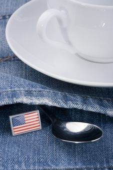 Free Spoon In A Pocket Stock Photo - 16607400